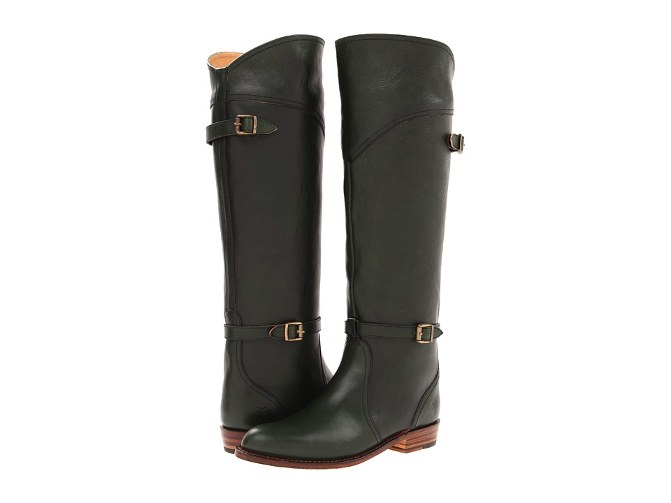 Frye - Dorado Riding (Green Pebbled Full Grain) Women's Pull-on Boots