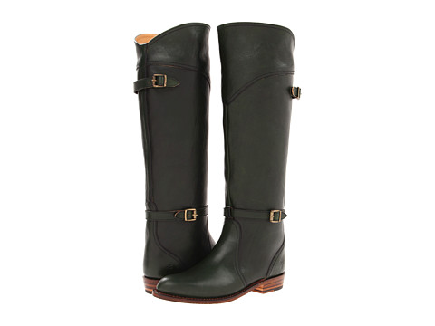 Frye - Dorado Riding (Green Pebbled Full Grain) Women's Pull-on Boots