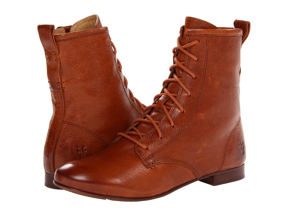 Frye - Jillian Lace Up (Whiskey Soft Vintage Leather) Women's Lace-up Boots