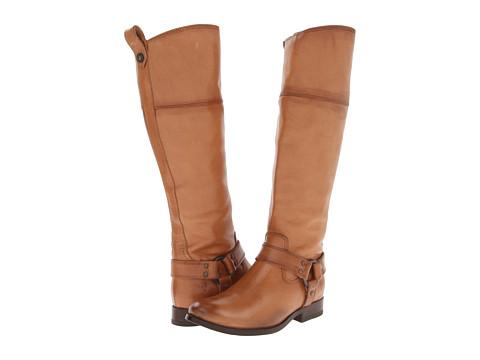 Frye - Melissa Harness Inside Zip (Camel Soft Vintage Leather) Cowboy Boots