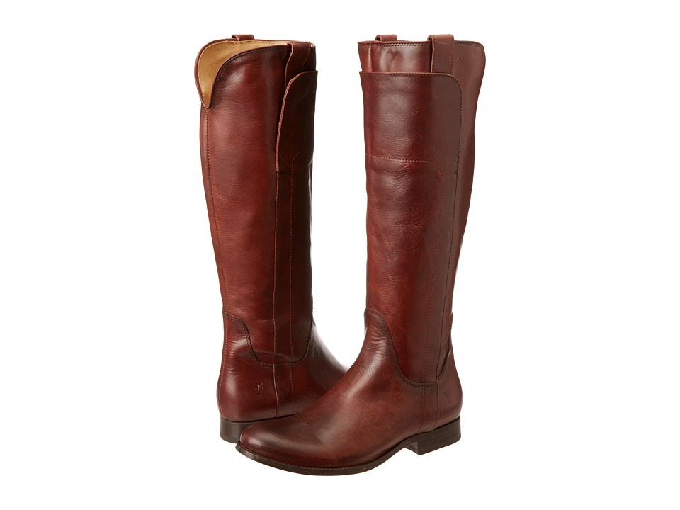 Frye - Melissa Tall Riding (Redwood Soft Vintage Leather) Cowboy Boots