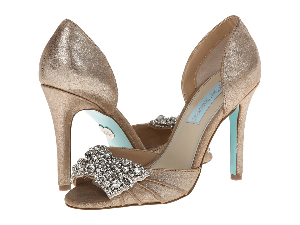 Blue by Betsey Johnson - Gown (Silver Metallic) High Heels