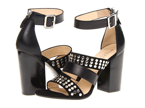 Marvin K - Demi (Black Combo) High Heels