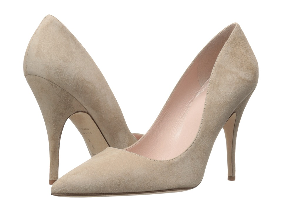 Kate Spade New York - Licorice (Light Camel Suede) High Heels