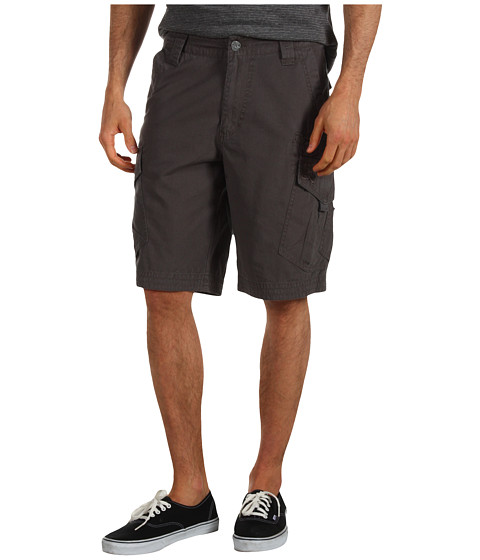 Fox - Slambozo Solid Cargo Short (Charcoal) Men's Shorts