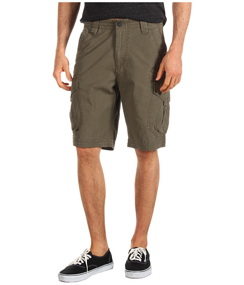 Fox - Slambozo Solid Cargo Short (Military) Men's Shorts