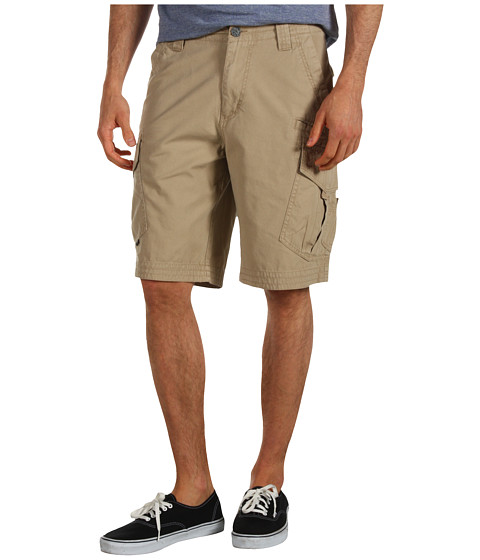 Fox - Slambozo Solid Cargo Short (Dark Khaki) Men