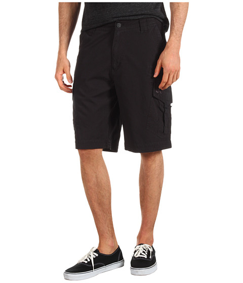 Fox - Slambozo Solid Cargo Short (Black) Men's Shorts
