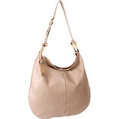SALE! $259.99 - Save $138 on Badgley Mischka Ellen Nappa Hobo (Latte) Bags and Luggage - 34.68% OFF $398.00