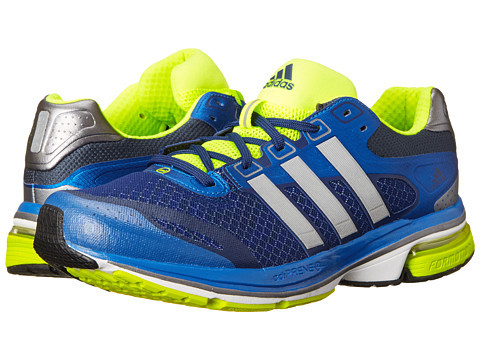 adidas Running - Supernova Glide 5 (Blue Beauty/Metallic Silver/Electricity) Men