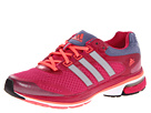 adidas Running - supernova Glide 5 W (Blast Pink/Tech Silver Metallic/Red Zest) - Footwear