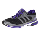 adidas Running - supernova Glide 5 W (Black/Neo Iron Metallic/Blast Purple) - Footwear