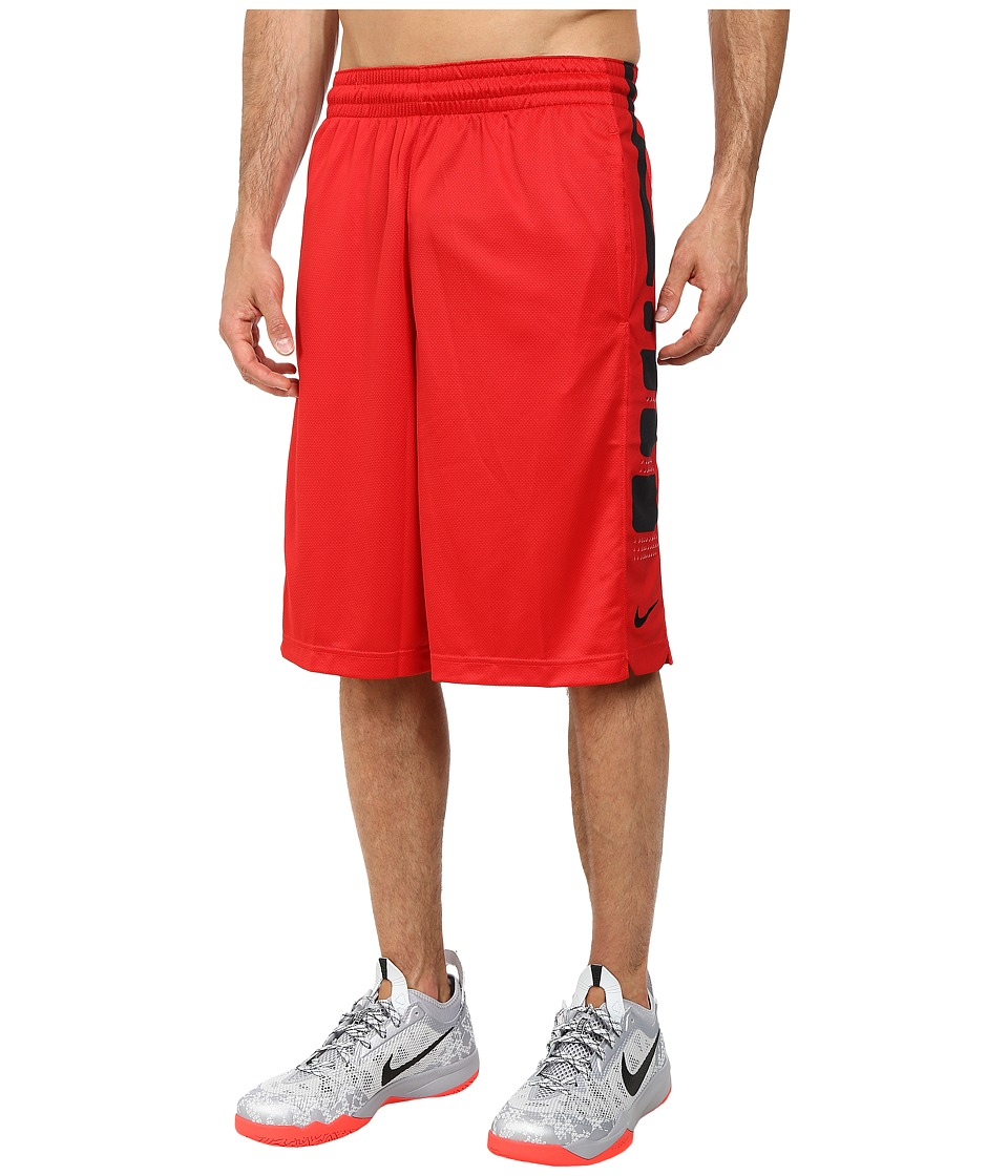 Nike - Elite Stripe Short (University Red/University Red/Black) Men