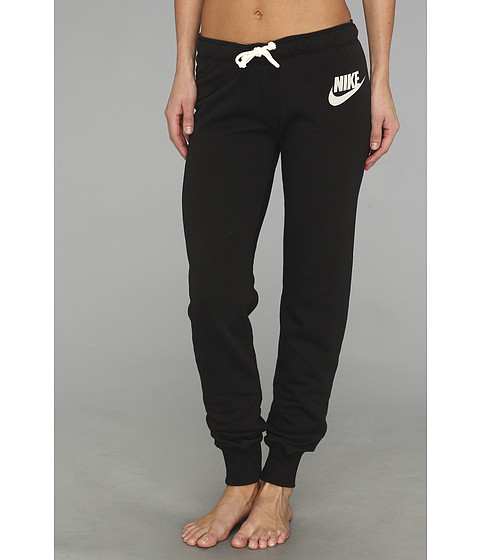 Nike - Rally Tight Pant (Black/Heather/Sail) Women