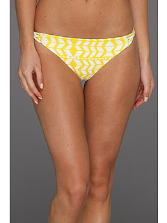SALE! $31.99 - Save $69 on Mara Hoffman Luau Spandex Basket Weave Bottom (Spandex Luau Black Yellow) Apparel - 68.33% OFF $101.00
