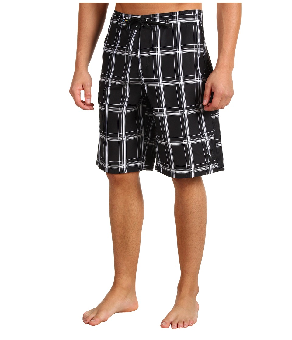 Hurley - Puerto Rico Boardshort (Black) Men's Swimwear