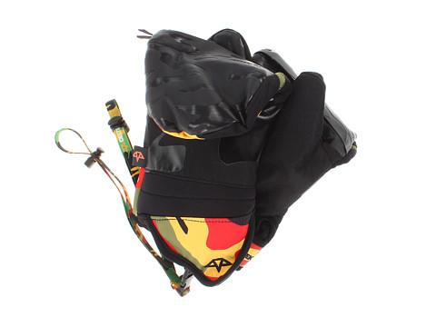Celtek - Chroma (Rasta Camo) Snowboard Gloves