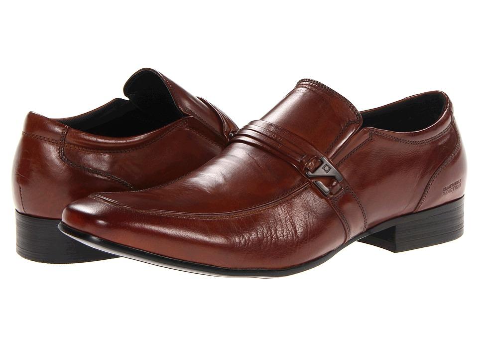 Kenneth Cole Reaction Extra Vert (Cognac Leather) Men