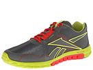 Reebok RealFLex Run 2.0EX (Ironstone/Sonic Green/Techy Red) Men's Shoes