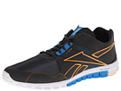 Reebok RealFLex Run 2.0EX (Gravel/Risk Blue/Neon Orange/White) Men's Shoes