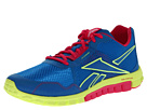 Reebok - RealFlex Run 2.0EX (OS- Cycle Blue/Neon Yellow/Candy Pink)