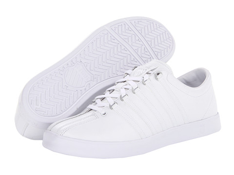 K-Swiss - The Classic Lite (White/White) Men's Tennis Shoes
