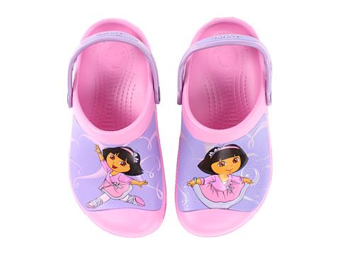 618e8a1555713 ... UPC 887350074383 product image for Crocs Kids Dora Ballet Clog (Toddler Little  Kid)