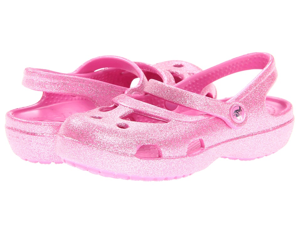 Crocs Kids - Shayna Hi Glitter MJ (Toddler/Little Kid) (Party Pink) Girl's Shoes