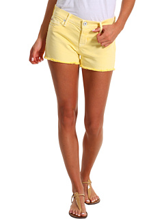 SALE! $92.95 - Save $50 on Hudson Amber Raw Edge Hem Short (Banana) Apparel - 35.00% OFF $143.00