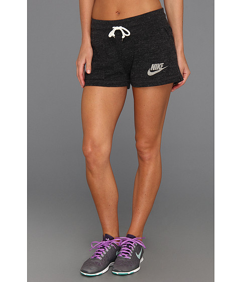 dbf61fa7268 UPC 884497350509 product image for Nike Gym Vintage Short (Black/Sail)  Women's Shorts ...