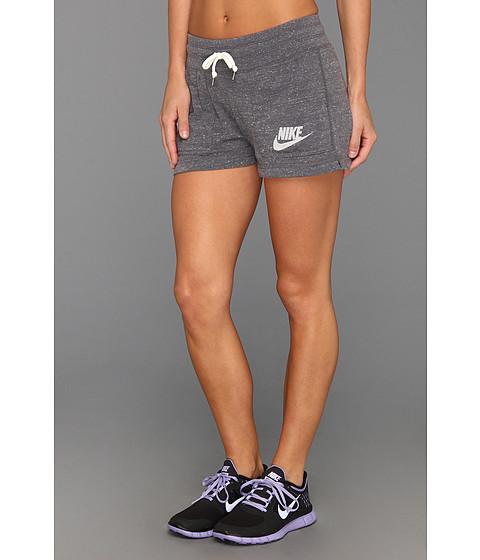 UPC 884497350530 product image for Nike Gym Vintage Short (Dark Grey Sail)  Women s ... e5d8429f2