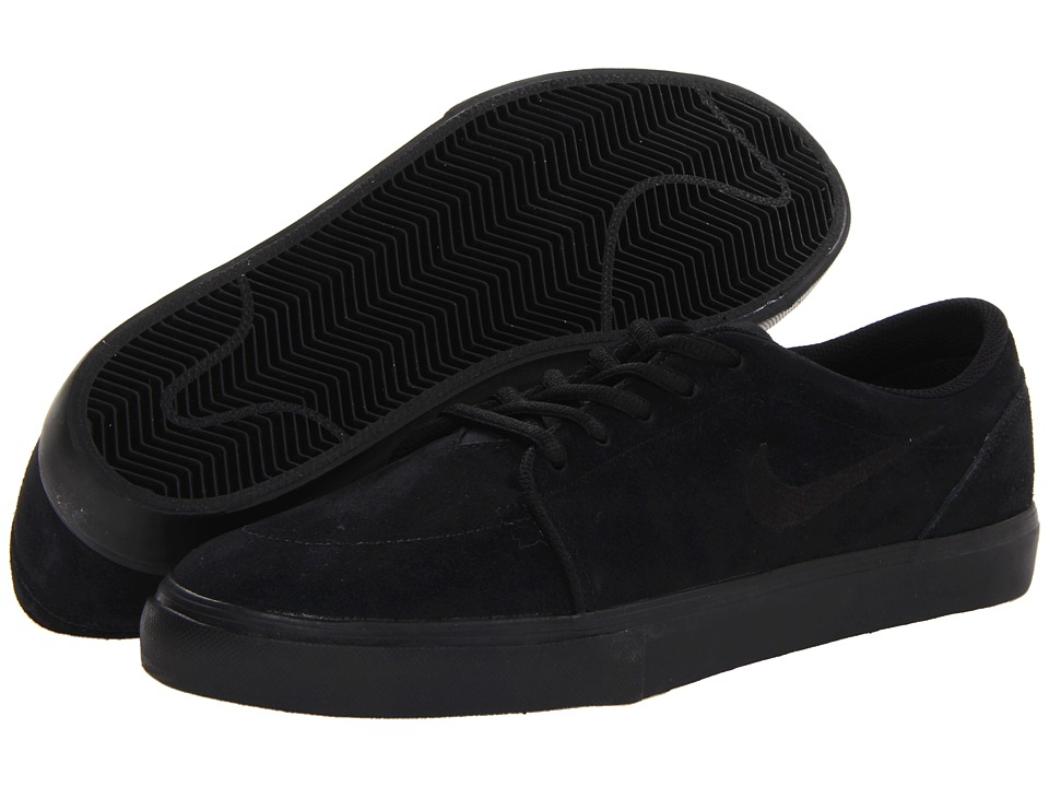 Nike SB - Satire (Black/Black/Black/Black) Men