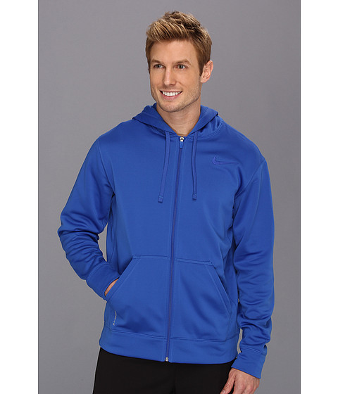 Nike - KO Full-Zip Hoodie 2.0 (Game Royal/Game Royal) Men