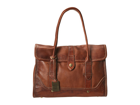 Frye - Campus Satchel (Saddle Dakota) Handbags