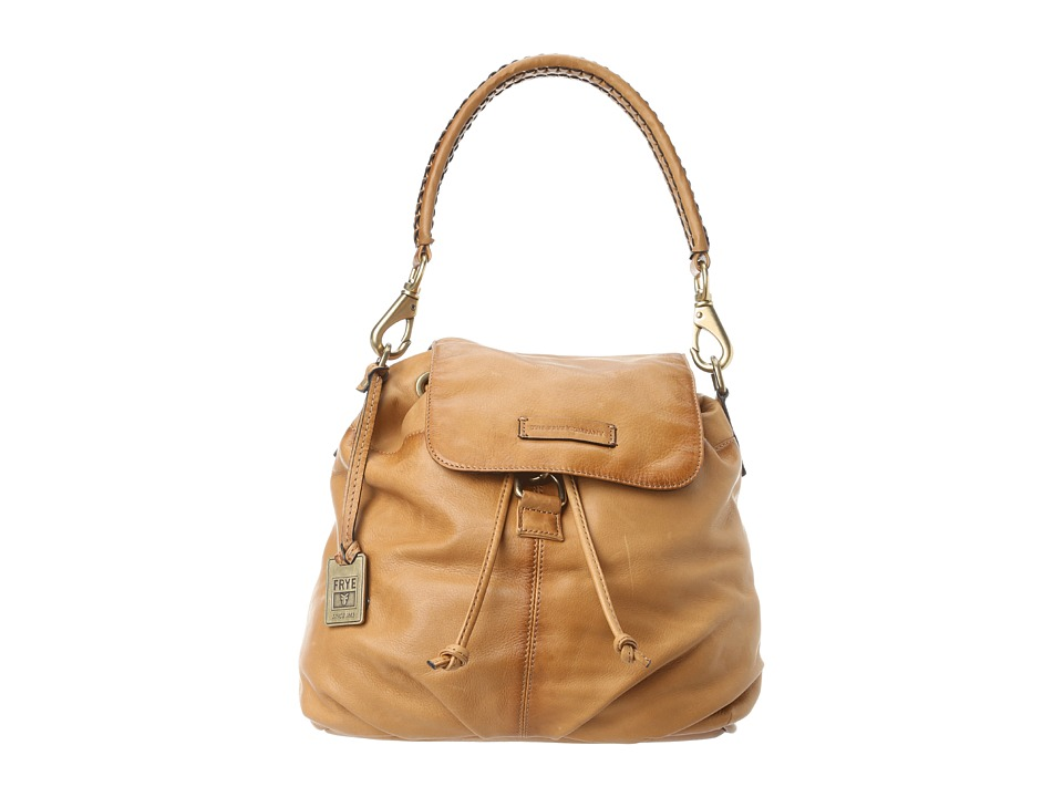 Frye - Jenny Backpack (Camel Soft Vintage Leather) Backpack Bags