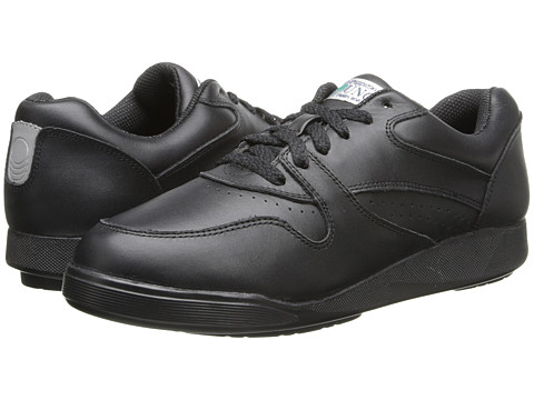 Hush Puppies - Upbeat (Black Leather) Women