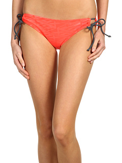 SALE! $11.99 - Save $33 on Fox On The Line Keyhole Bottom (Melon) Apparel - 73.06% OFF $44.50