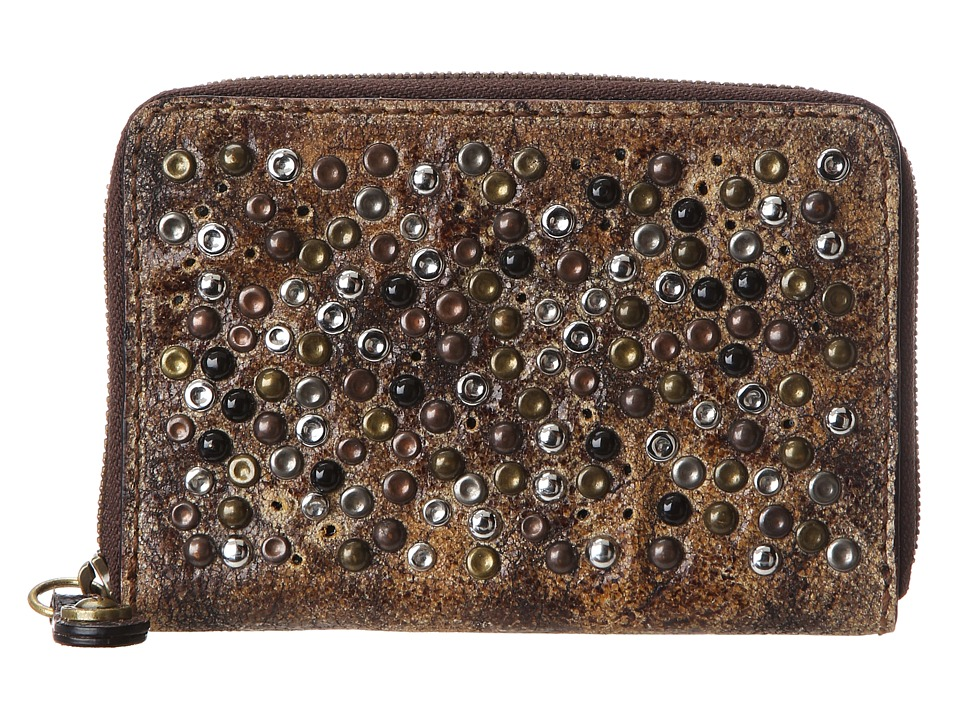Frye - Deborah Wallet Med (Chocolate Glazed Vintage Leather) Wallet Handbags