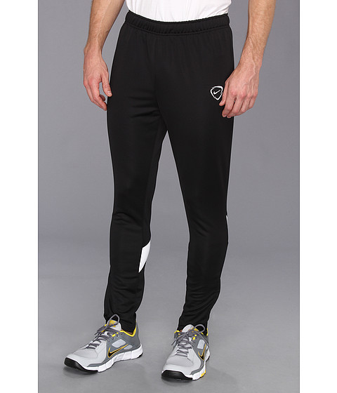 Nike - Academy Tech Knit Pant (Black/White/White) Men