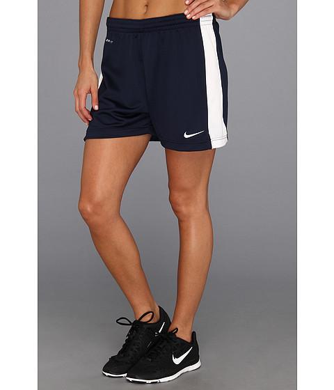 Nike - Academy Knit Short (Obsidian/White/White/White) Women's Shorts