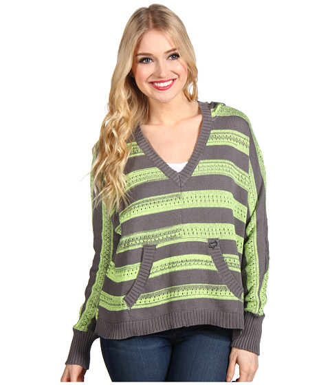 Fox - Trouble Shoot Sweater (Shadow) Women's Sweater