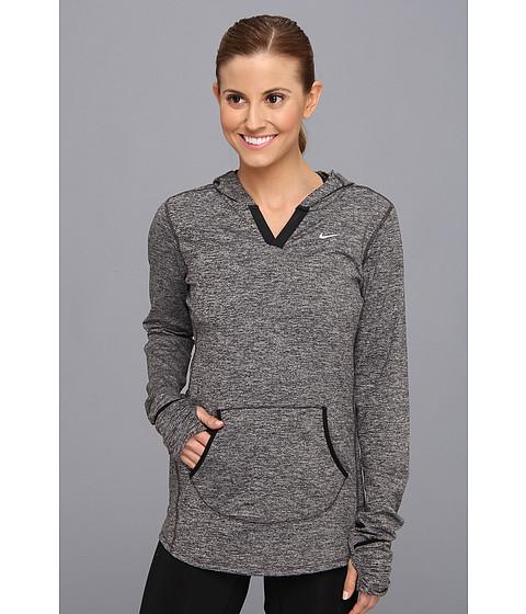 Nike - Element Hoodie (Black/Heather/Black/Reflective Silver) Women