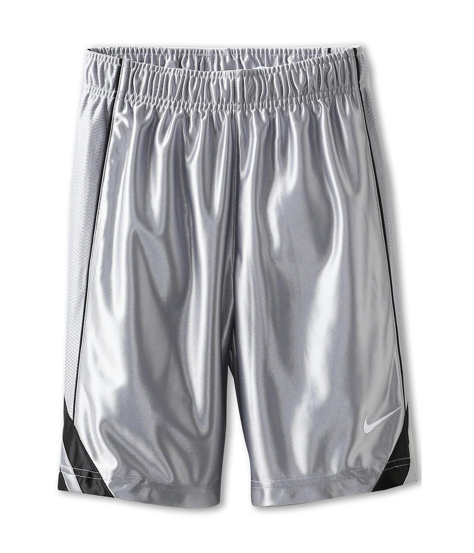 Nike Kids - Dunk Short V2 (Little Kids/Big Kids) (Wolf Grey/Black/Black/White) Boy's Shorts