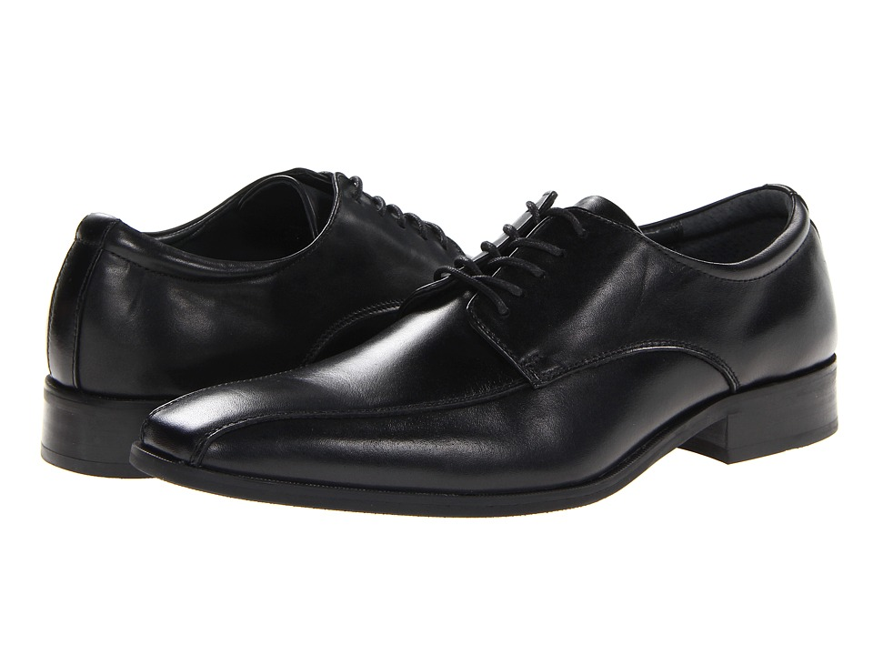 Calvin Klein - Gaven (Black) Men's Lace-up Bicycle Toe Shoes