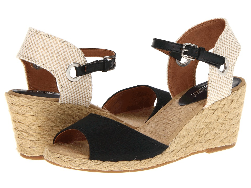 Lucky Brand - Kyndra (Black) Women's Wedge Shoes