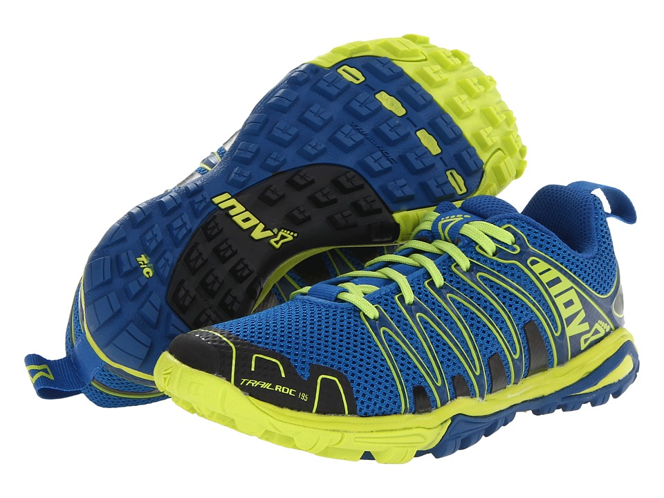 inov-8 - Trailroc 195 Kids (Blue/Lime) Running Shoes