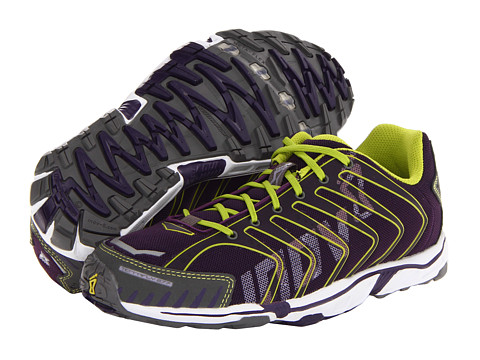 inov-8 - Terrafly 277 (Blackberry/Lime/White) Women's Running Shoes