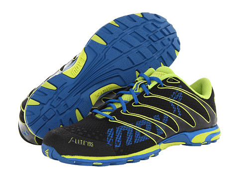 inov-8 - F-Lite 195 W/RopeTec (Black/Lime/Azure) Running Shoes