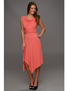 SALE! $71.99 - Save $106 on BCBGMAXAZRIA Ezra Asymmetrical Dress (Coral) Apparel - 59.56% OFF $178.00
