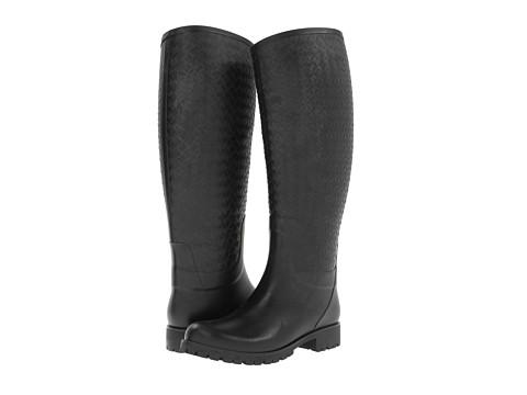 Bottega Veneta - High Top Rain Boot (Nero) Women